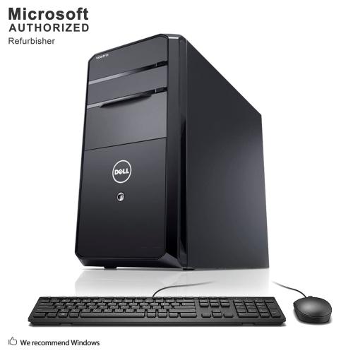Dell Vostro 470 TW, INTEL CORE I5-3450, 8GB RAM , 2TB HDD, DVDRW, WIFI, BLUETOOTH , Windows 10(EN/FR) -Refurbished
