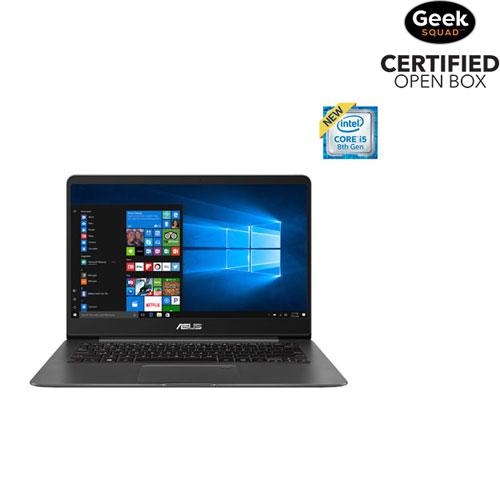 "ASUS ZenBook 14"" Laptop - Grey (Intel Core i5-8250U / 256GB SSD / 8GB RAM / Windows 10) - Open Box"