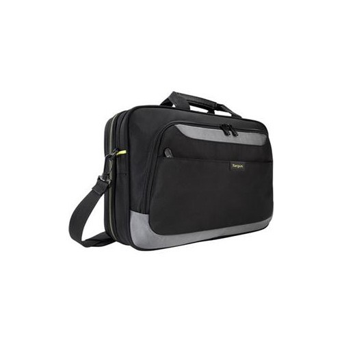 TARGUS 15.6IN CITY GEAR TOPLOAD LAPTOP CASE BLK/ YELLOW TCG460