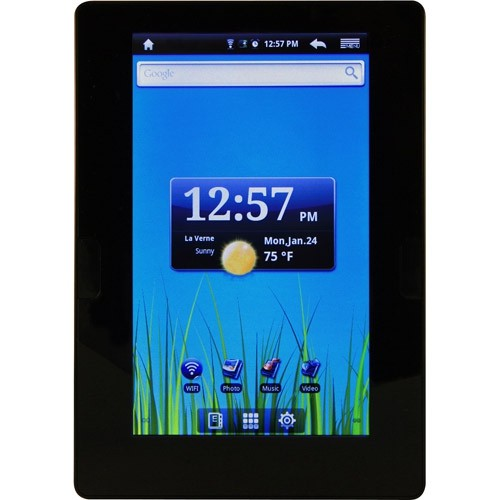 "Refurbished E Fun NEXT6 NextBook 7"" Color TFT Display Tablet 4GB WiFi - Black"