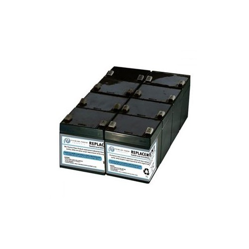 E-REPLACEMENTS COMPATIBLE BATTERY (NO CHASIS ASSEMBLY REQUIRED) FOR APC SUA2200RM2U SUA2200RMUS SUA3000RM2U SUA3000R2X14