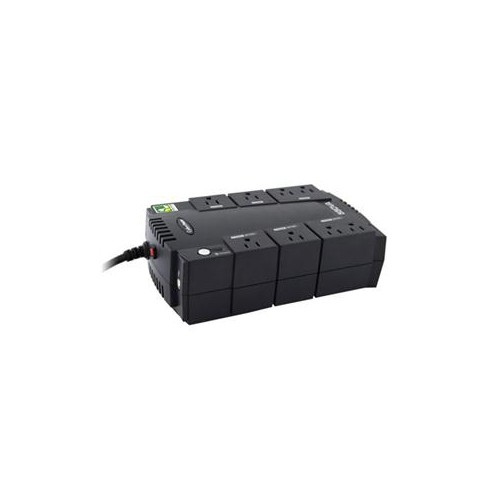 CYBERPOWER 550VA CP UPS 120V STANDBY GREEN 8OUT 5-15R USB MGMT SOFT 3YR CP550SLG
