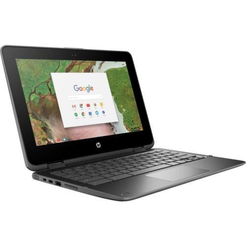 "HP Chromebook x360 11 G1 EE 11.6"" Touchscreen LCD 2 in 1 Chromebook - Intel Celeron N3350 Dual-core (2 Core) 1.10 GHz - 8GB"