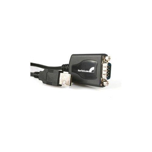 STARTECH ADD AN RS-232 SERIAL PORT TO YOUR LAPTOP OR DESKTOP COMPUTER THROUGH USB FEATURES COM PORT RETENTION USB TO SER