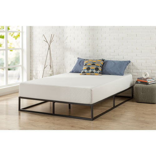 Zinus Platforma Contemporary 10 Platform Bed Queen Black