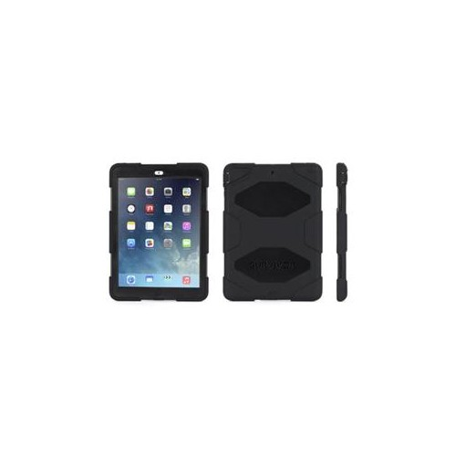 IPAD AIR RUGGED CASE, SURVIVOR ALL-TERRAIN PROTECTIVE CASE PLUS STAND, BLACK,MILITARY-DUTY CASEDIRECT FROM GRIFFIN GB363
