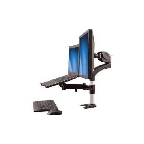 Sngl Monitor Arm Laptop Stand