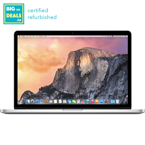 "Apple MacBook Pro 13"", 2014, 512GB SSD, 2.8GHz Core i5 - Refurbished"