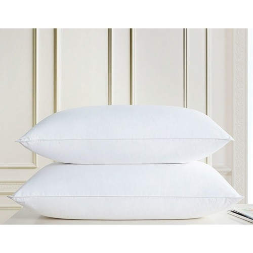 Twin Ducks Florence White Goose Down Pillow 340 Thread Count