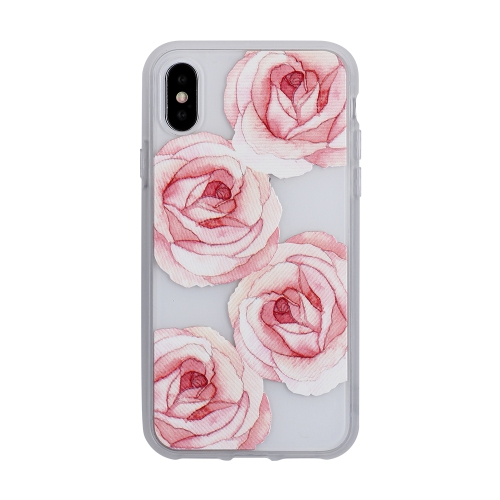 best loved 608db 2a4c2 Blu Element Fitted Hard Shell Case for iPhone X - Rose