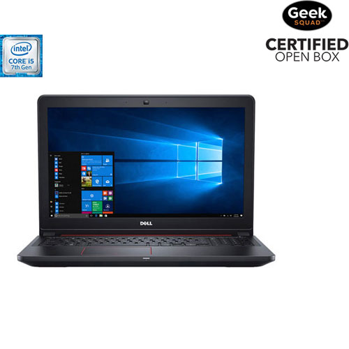 Portable de jeu 15,6 po de Dell - Noir (Core i5-7300HQ Intel/DD 1 To/RAM 8 Go/Windows 10) - Ang - BO