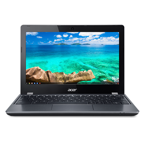 """New Acer Chromebook C740, 11.6"""", Celeron 3205U, 2GB, 32GB SSD, Chrome OS Iron"""