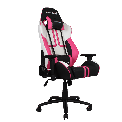 Lovely Andaseat Viper Series Gaming Chair   Black/White/Pink : Gaming Chairs    Best Buy Canada
