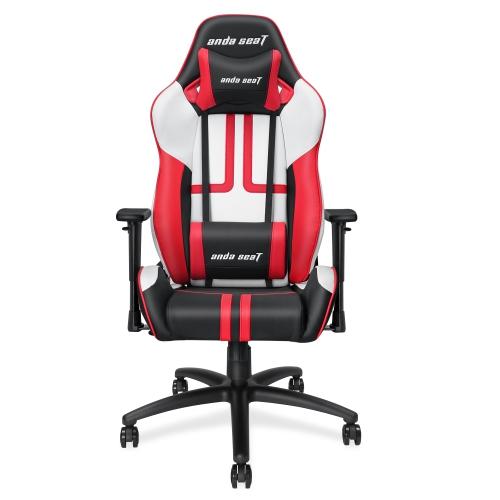 Anda Seat Viper Series Large Size Gaming Chair Blackwhitered