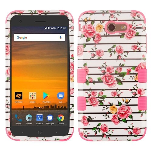 Insten Fitted Hard Shell Case - White;Pink