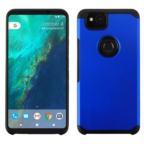 Insten Astronoot Hard Hybrid Plastic TPU Case For Google Pixel 2, Blue/Black