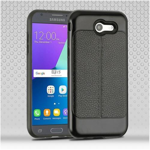 Insten Hard Case For Samsung Galaxy Amp Prime 2/Express Prime 2/J3 (2017), Black