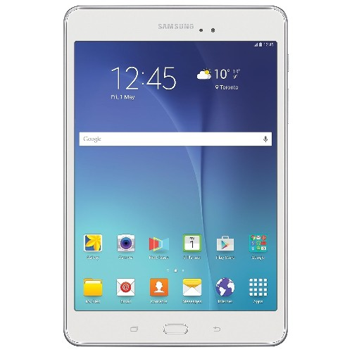 """Tablette Samsung Galaxy Tab A 8"""" 16 GB Android 5.0 Blanche, Reconditionnée"""