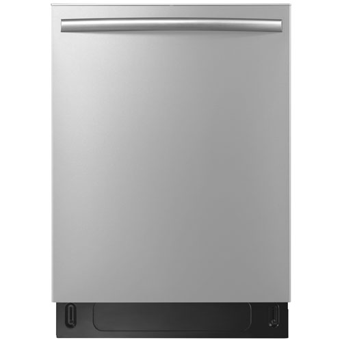 """Insignia 24"""" 51dB Built-In Dishwasher w/ Stainless Steel Tub - Stainless - Only at Best Buy"""