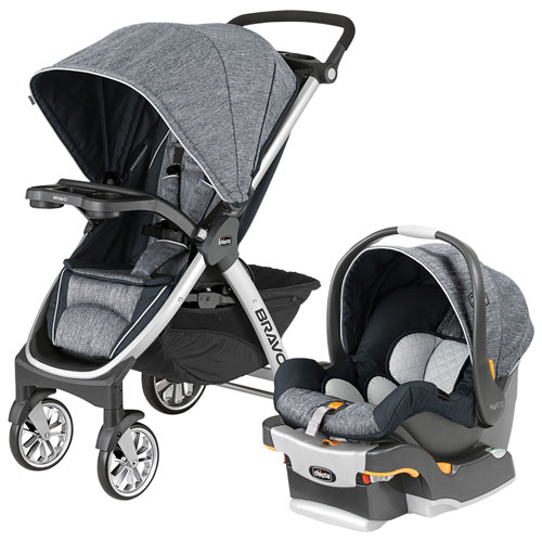 Chicco Bravo Stroller With KeyFit 30 Infant Car Seat