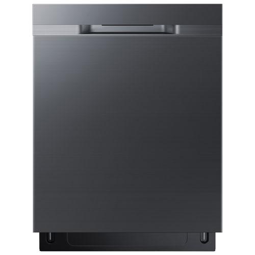 Lave-vaisselle encastrable 24 po 48 dB avec cuve en inox de Samsung - Inox noir