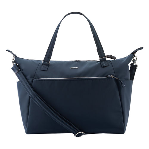 Pacsafe Stylesafe Ripstop Nylon RFID Tote Bag - Navy (20625606)   Tote Bags  - Best Buy Canada e3c836fc5b7af