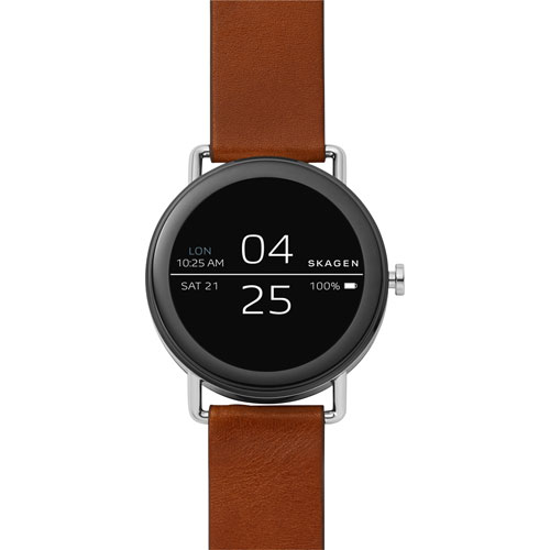 Skagen Falster 42mm Smartwatch - Brown