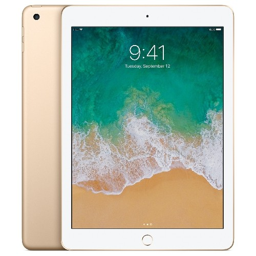 Apple iPad 5 (5th generation) Wifi ONLY 9.7inch 128GB in Gold, Refurbished