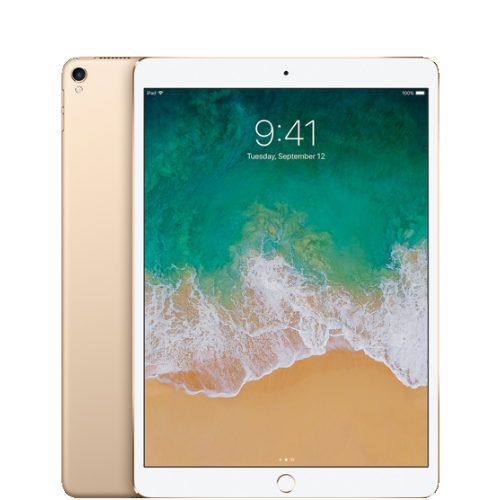 Apple iPad Pro Wifi ONLY 10.5 inch 256GB Gold, Refurbished
