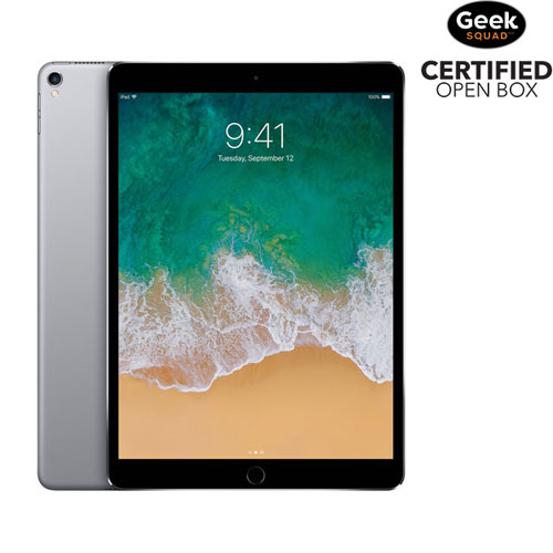 "Apple iPad Pro 10.5"" 256GB with Wi-Fi - Space Grey - Open Box"