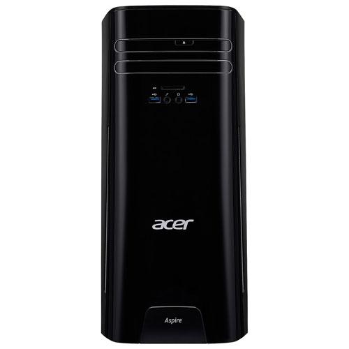 Ordinateur de bureau TC d'Acer (A10-9700 AMD/DD 1 To/RAM 8 Go/Radeon R7 AMD/Windows 10)