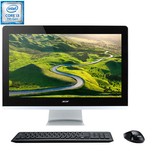 "Acer Aspire Z 24"" All-in-One PC (Intel Core i3-7100T/1TB HDD/8GB RAM/Intel UHD Graphics 605/Win 10)"