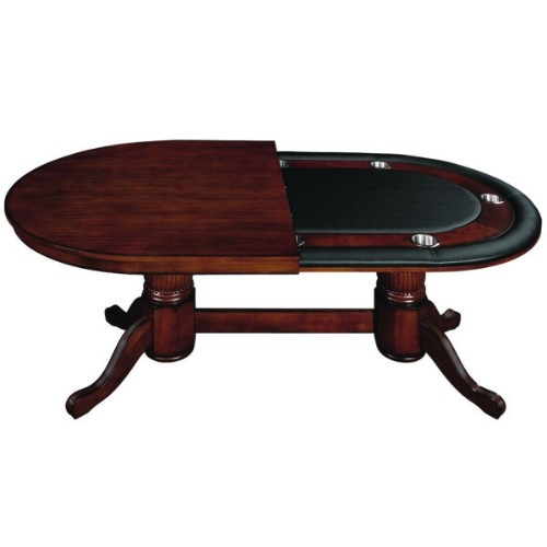 Superb 84 Game Table With Dining Top Chestnut Home Interior And Landscaping Elinuenasavecom
