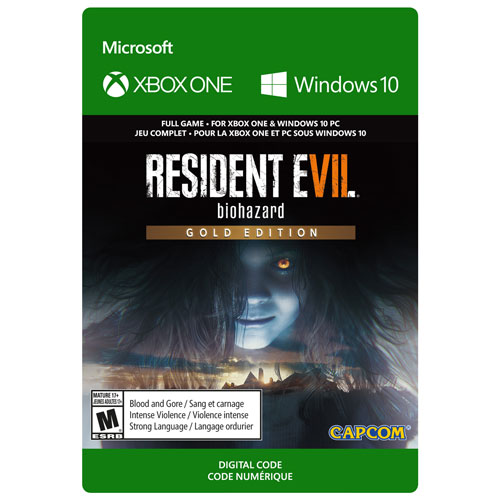 Resident Evil 7 Biohazard Gold Edition Xbox One Digital Download Best Buy Canada