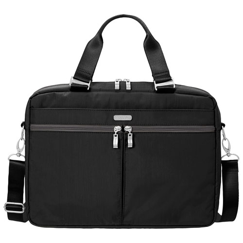 """baggallini Classic 13"""" Designer Laptop Bag - Black"""