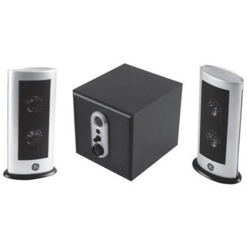 GE Haut-Parleurs d'ordinateur Stereo 2.1 Avec Subwoofer