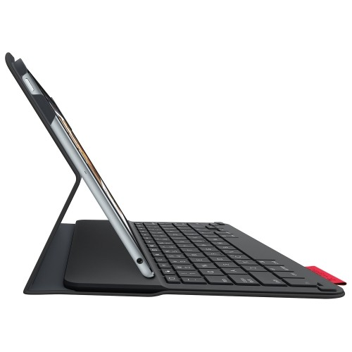 Logitech Type+ Ipad Air 2 Keyboard Folio Case -(920-006912)- Black-Open Box