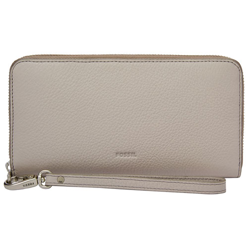 Fossil Emma RFID Portefeuille gris