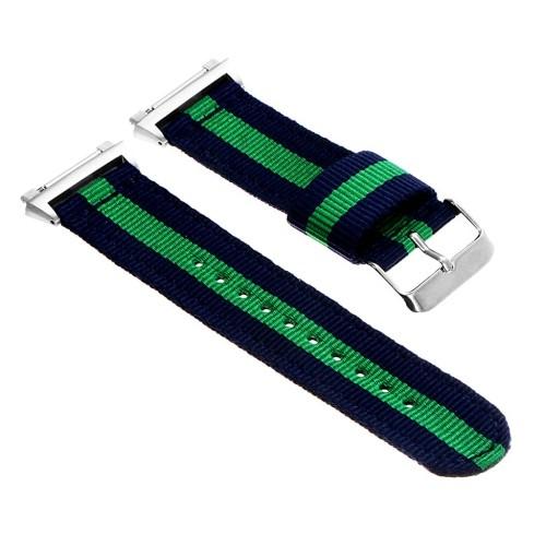 StrapsCo Bandistic Nylon Bande de montre de NATO pour Fitbit Ionic