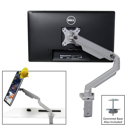 "Boost Industries Universal Flexi Full Motion Articulating Advanced Spring DM-MX80 Desk Mount for Screen 17"" to 32"""