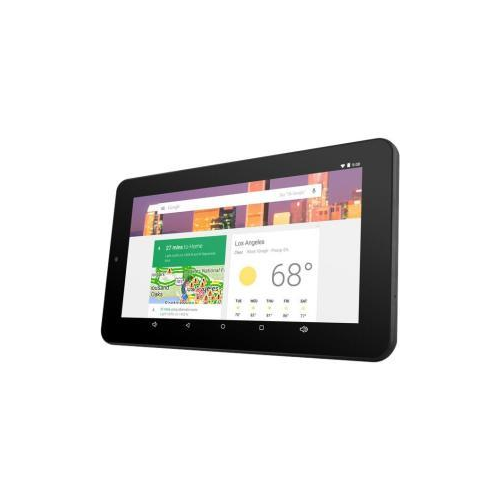 EMATIC QUAD-CORE EGQ347BL 7-INCH HD TABLET WITH ANDROID 5.0, LOLLIPOP AND GOOGLE PLAY 1 GB (BLACK)