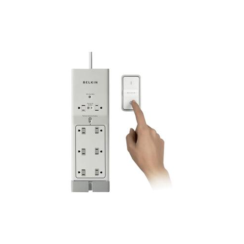 8 Outlet SurgePrtctr w 4' Cord