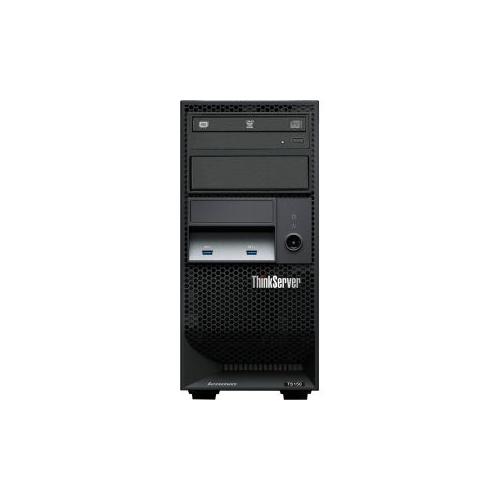 Lenovo ThinkServer TS150 70UB000DUX 4U Tower Server - 1 x Intel Xeon E3-1275 v6 Quad-core (4 Core) 3.80 GHz - 8GB Installed