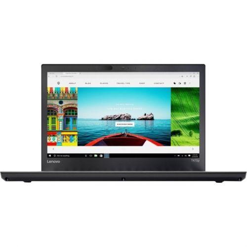 "Lenovo ThinkPad T470p 20J6003LUS 14"" LCD Notebook - Intel Core i7 (7th Gen) i7-7820HQ Quad-core (4 Core) 2.90 GHz - 8GB DDR4"