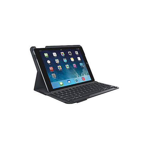 ** OPEN BOX** Logitech 920-006909 Type + Keyboard and Folio Case for iPad Air