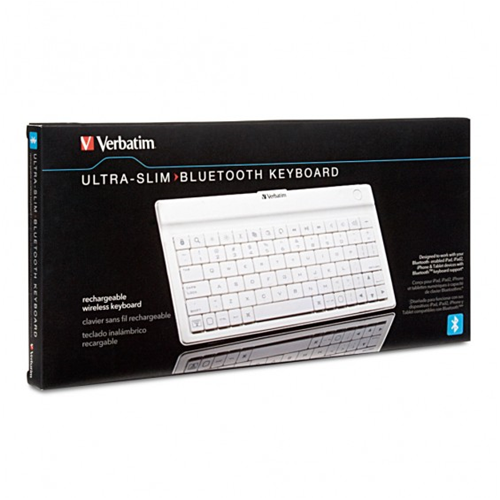 Verbatim Ultra-slim Wireless Keyboard - (97754)
