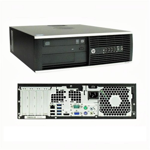 HP PRO 6300 SFF I3 3220 3.3 GHZ 4GB 500GB DVD Win10 HOME 3YR - Refurbished