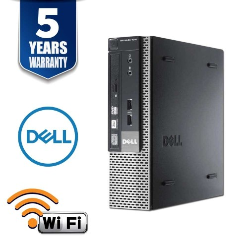 DELL OPTIPLEX 7010 SFF I5 3470 3.2 GHZ 8GB 2TB DVD Win10 HOME 5YR WTY USB WIFI- Refurbished