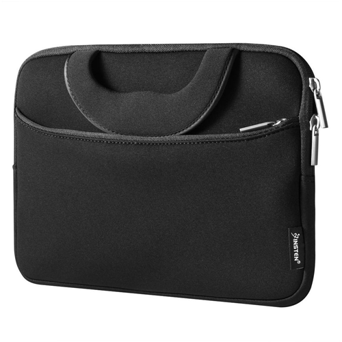 "Insten Universal Stylish Protective 10"" Laptop/Tablet Sleeve Case, Black"