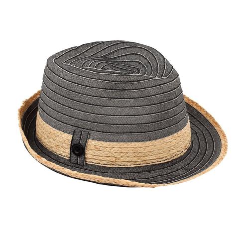 ed416525258 Access Headwear Sun Styles Havana Ladies Packable Trilby Fedora Hat, Black  : Hats - Best Buy Canada